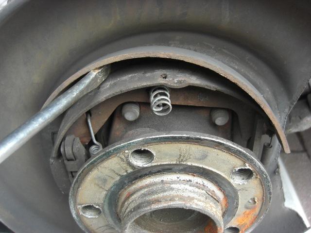 2001 Xc70 Parking Brake