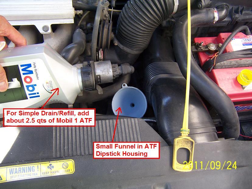 DIY: 98 V70 Engine Oil Change (& ATF Change): the Easy Way