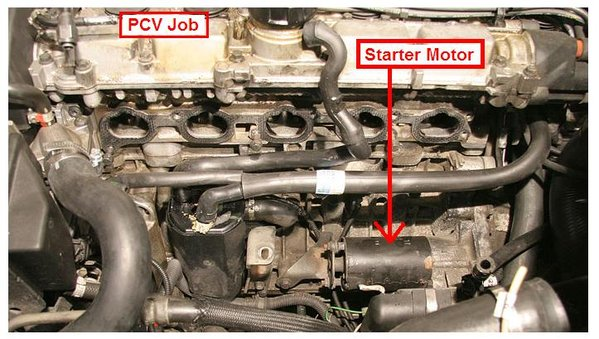 Chevy Cruze Problems >> Step by Step - Replacing the starter motor 1998 S70 - Page 2