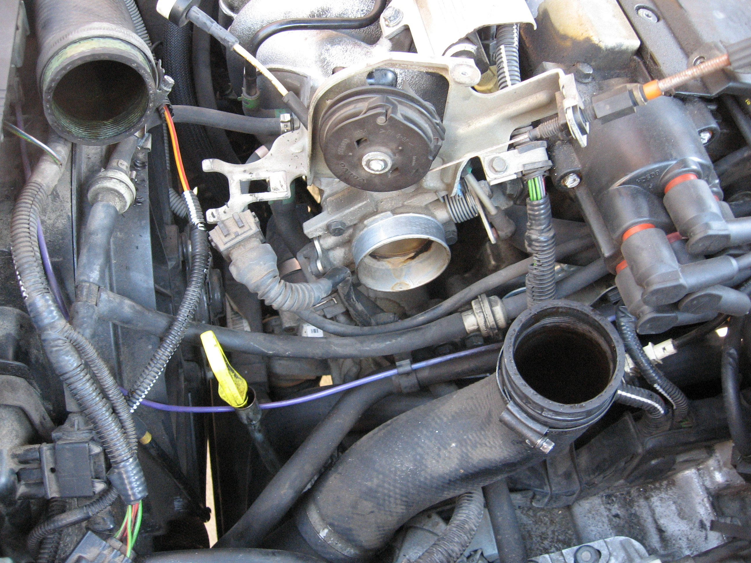 PCV System Repair on a Volvo 5-cylinder - Volvo Forums