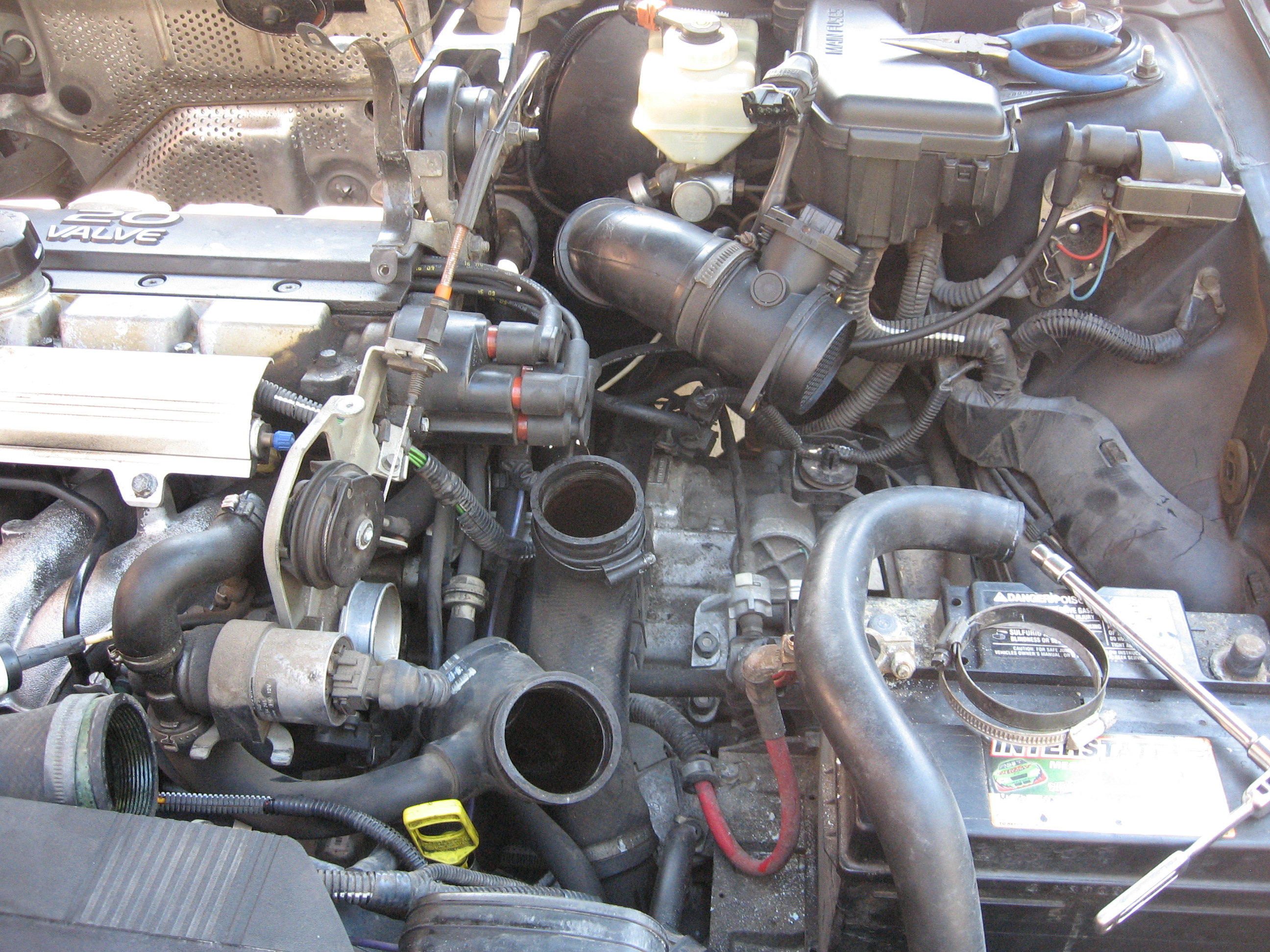 PCV System Repair on a Volvo 5-cylinder