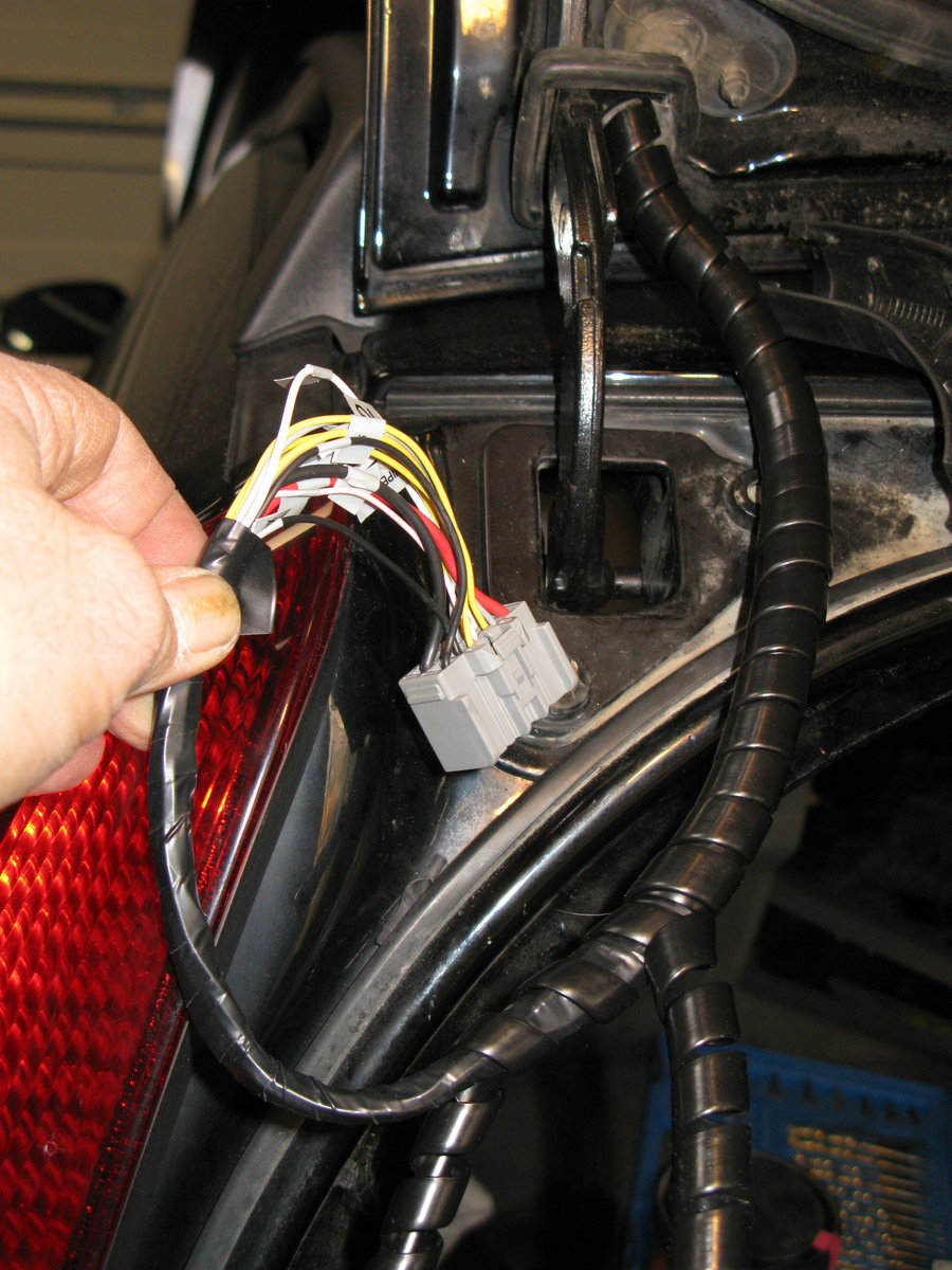 2001 V70 Wiring Harness See Page Wire With Splice Points Code Img 2734 Prior To Inserting