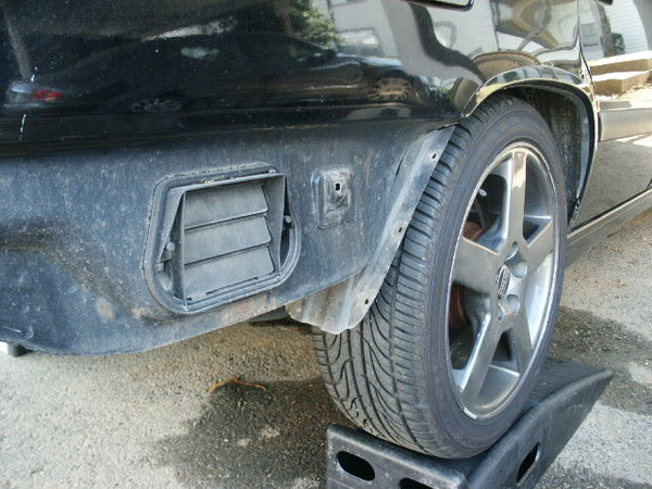 98 V70 Removing Rear Bumper Cover