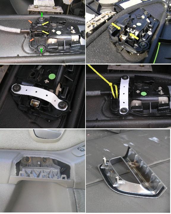 Volvo S60 S80 V70 Xc70 Rear Left Driver Side Door
