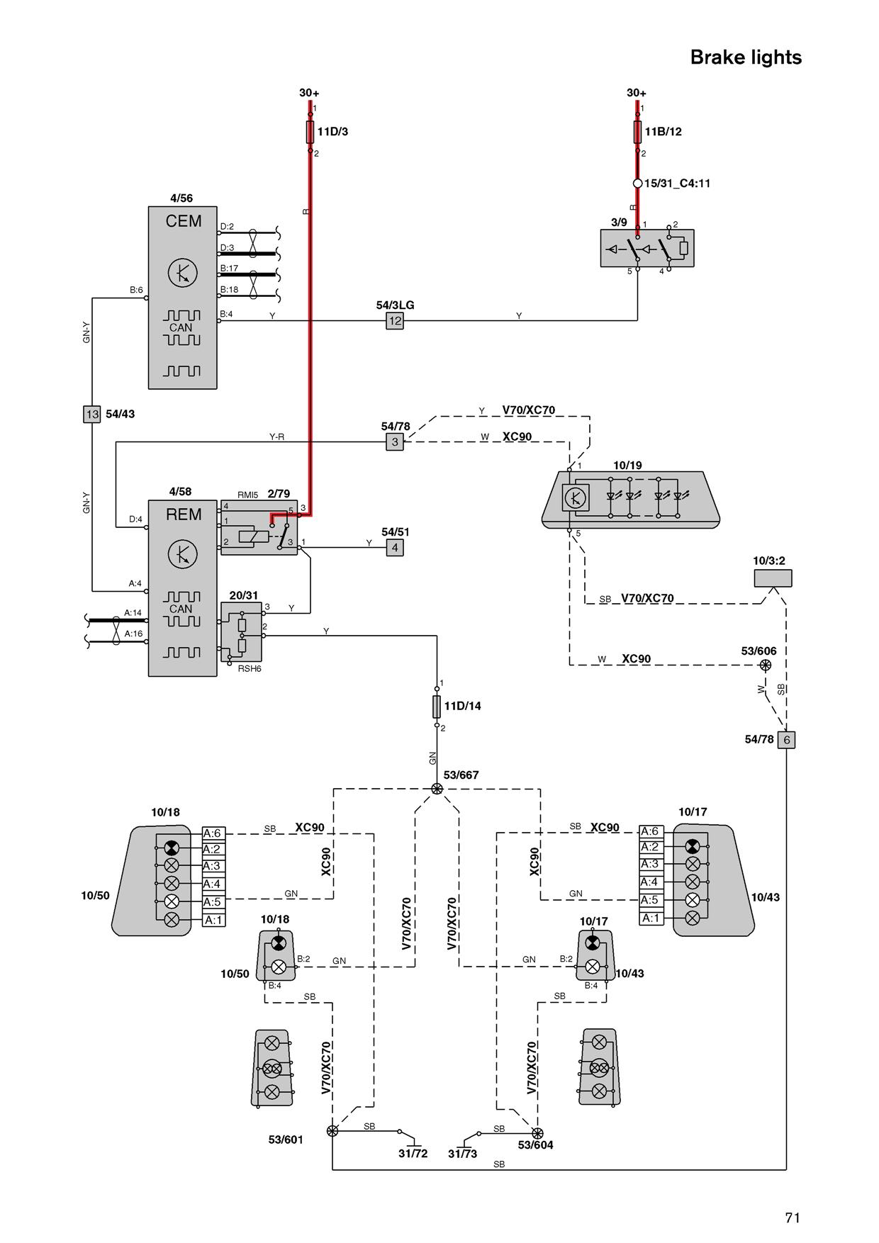 Fuse box diagram for s on volvo wiring