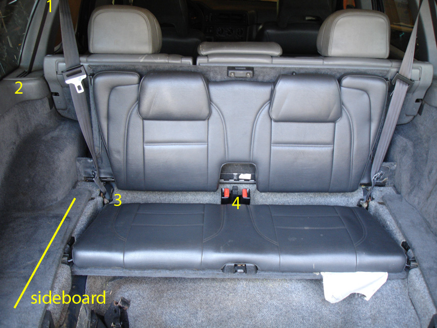 Third Row Seat Remove Install 850 Wagon Volvo Forums