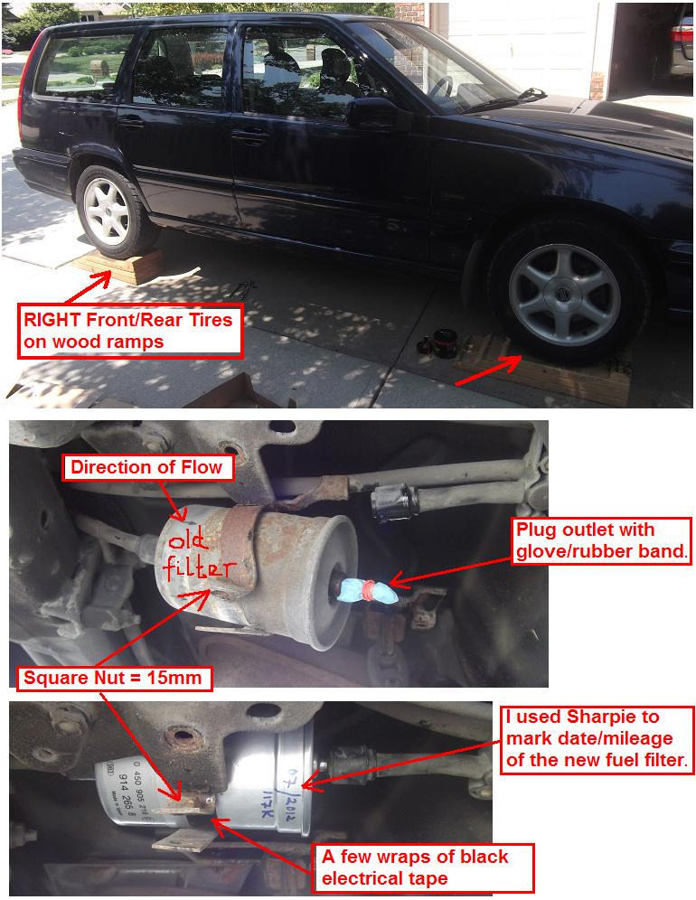 volvo s60 fuel filter fuel filter replacement diy page 4  fuel filter replacement diy page 4