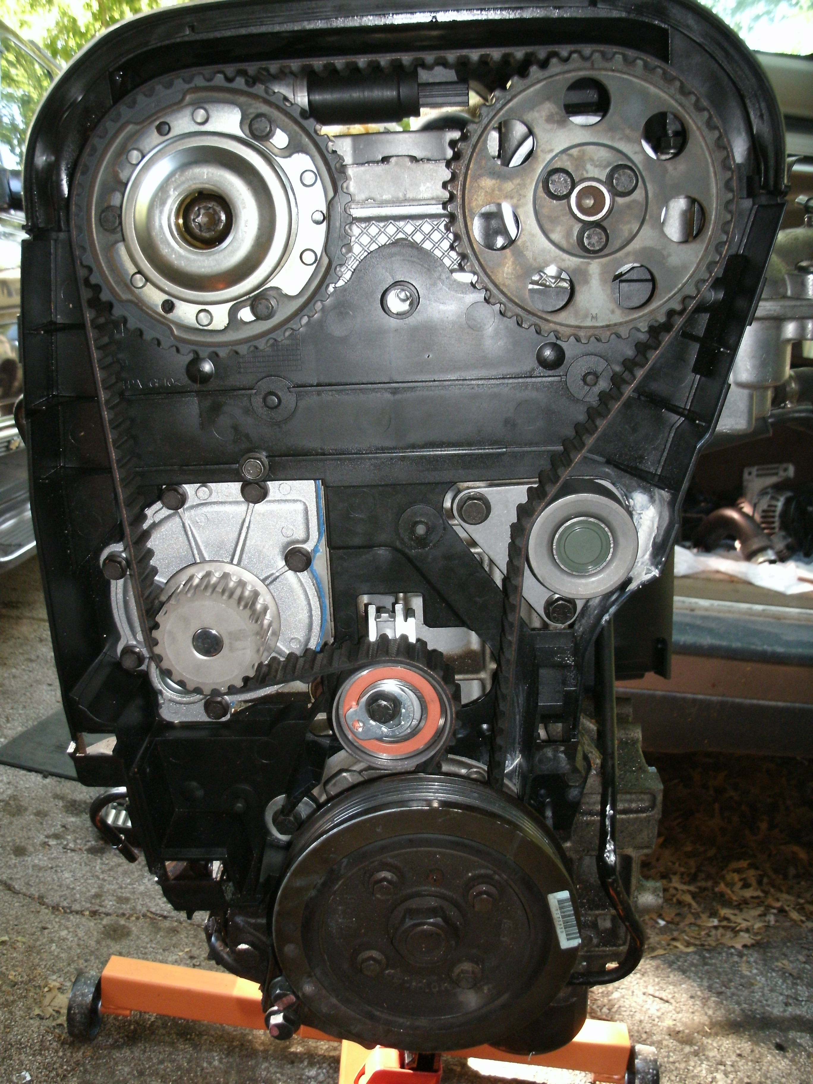 2000 S70 N/A Timing Belt Replacement Problem(s)