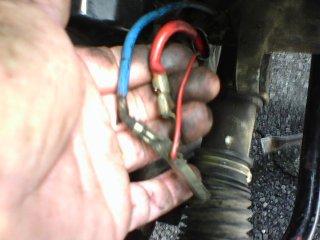 volvo 240 alternator wiring 93 240 with ground wire in wrong place   93 240 with ground wire in wrong place