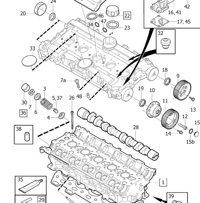 Volvo S80 2000 2001 Engine Cylinder Head Gasket: Valve Cover Gasket?