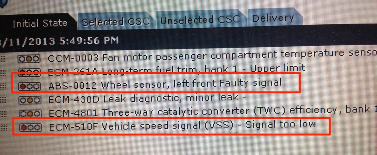 ABS wheel sensor? - Volvo Forums