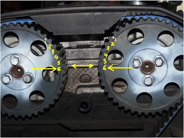 Timing Belt/Timing Marks question