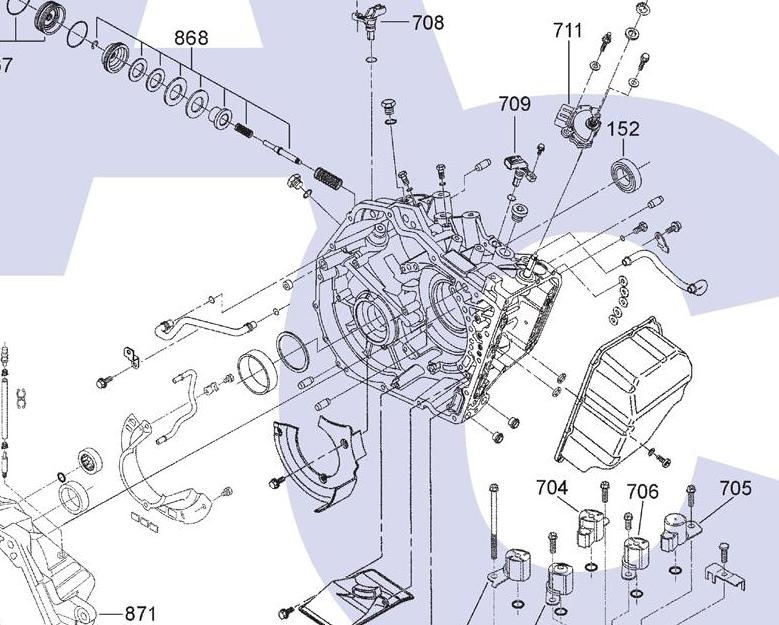 Eek  Transmission Service  Engine Codes P0717 And P0700  Hel
