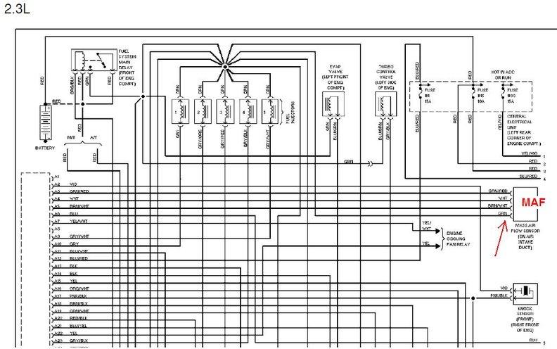 MAF sensor: Faulty return cable?