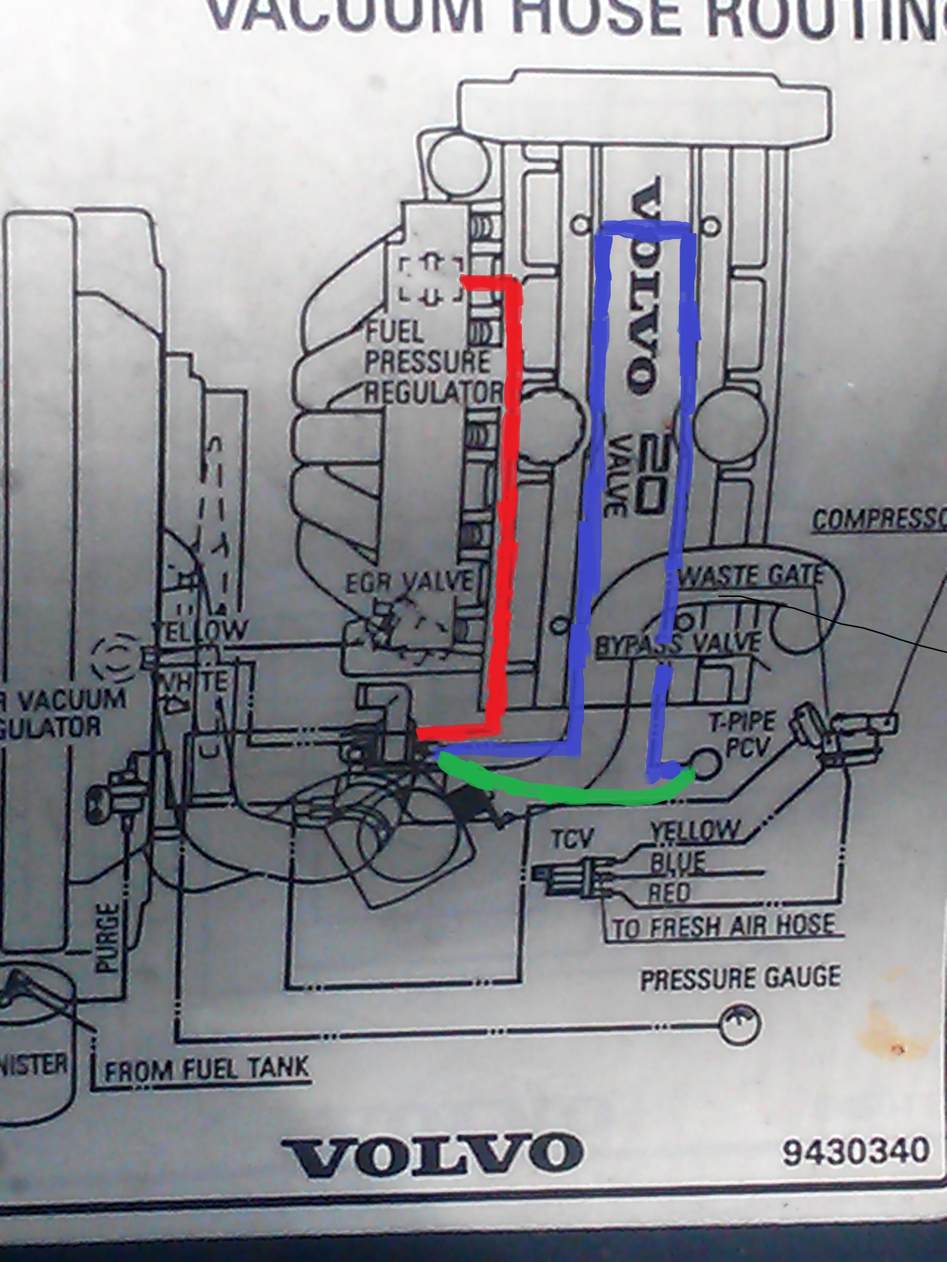 1994 Volvo 850 Turbo Pcv Replacement