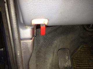 Mass Airflow Sensor replacement step 1