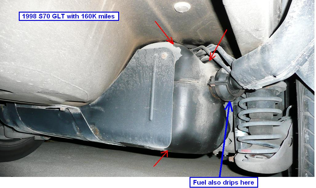 Diy  1998 S70 Glt Fuel Vent Hose W  O Dropping Gas Tank