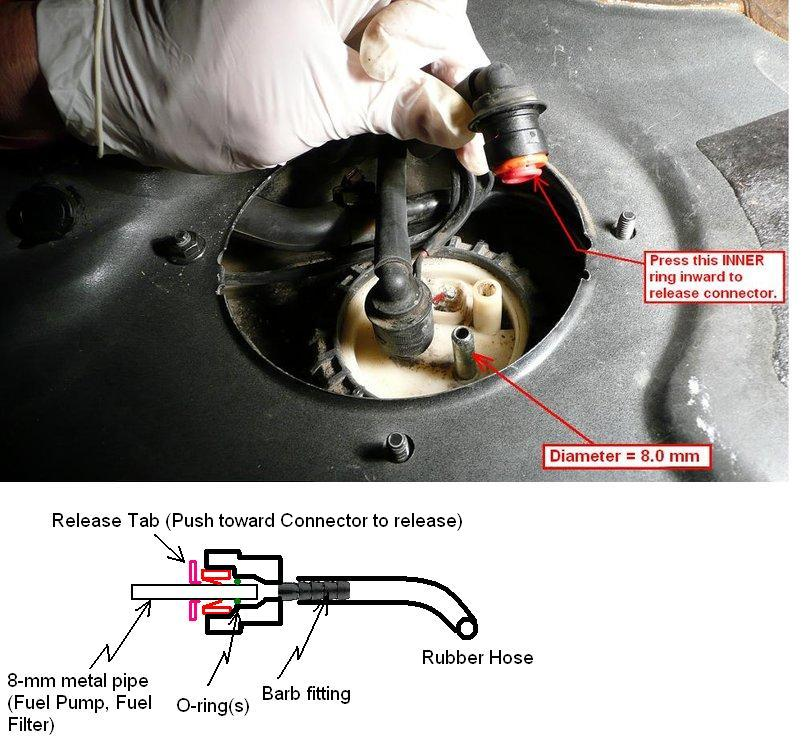 File on fuel filter location on 2004 volvo