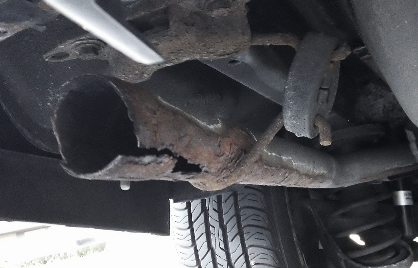 1997 Volvo 850/na - Fitment and make of exhaust muffler