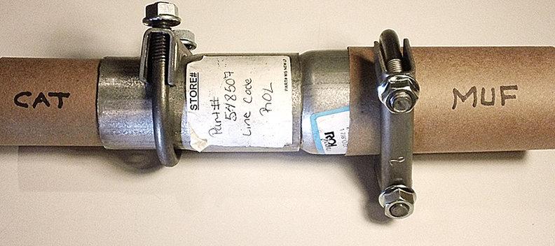 Volvo S70 Exhaust System On Volvo 850 Catalytic Converter Location