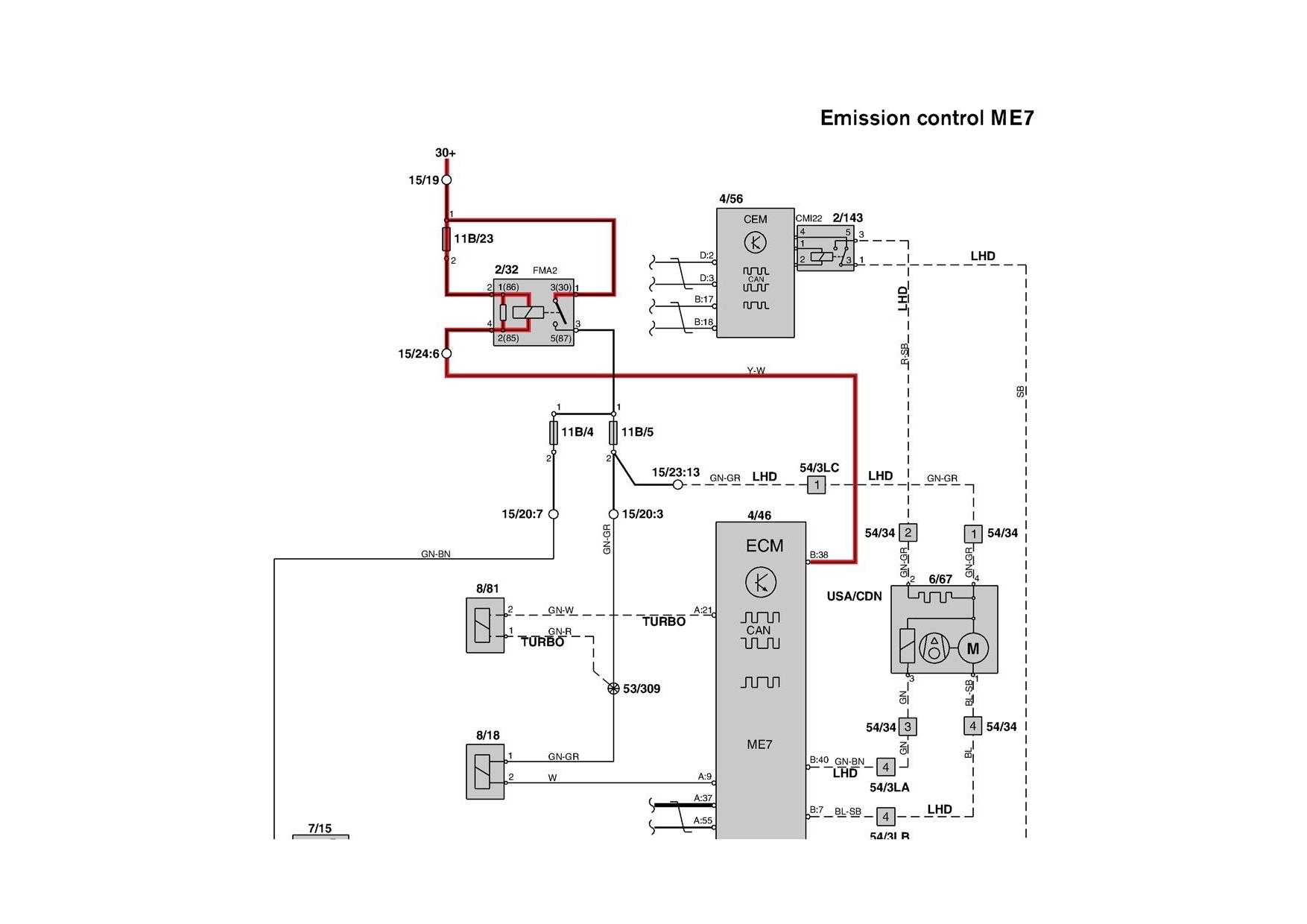 Hqdefault moreover Ecu in addition Volvo V additionally Nissan Qashqai Car Stereo Wiring Diagram Connector Pinout Harness moreover Chevrolet Monte Carlo. on 1990 volvo fuse 5