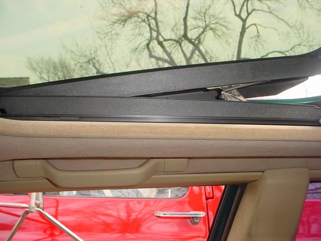850 sunroof headliner repair