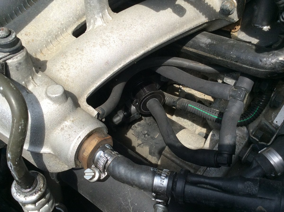 2006 XC70 Evap Purge valve replacement