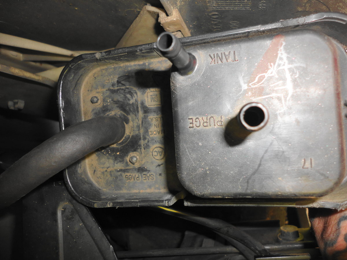 Thread Power Steering And Purge Valve Fixed