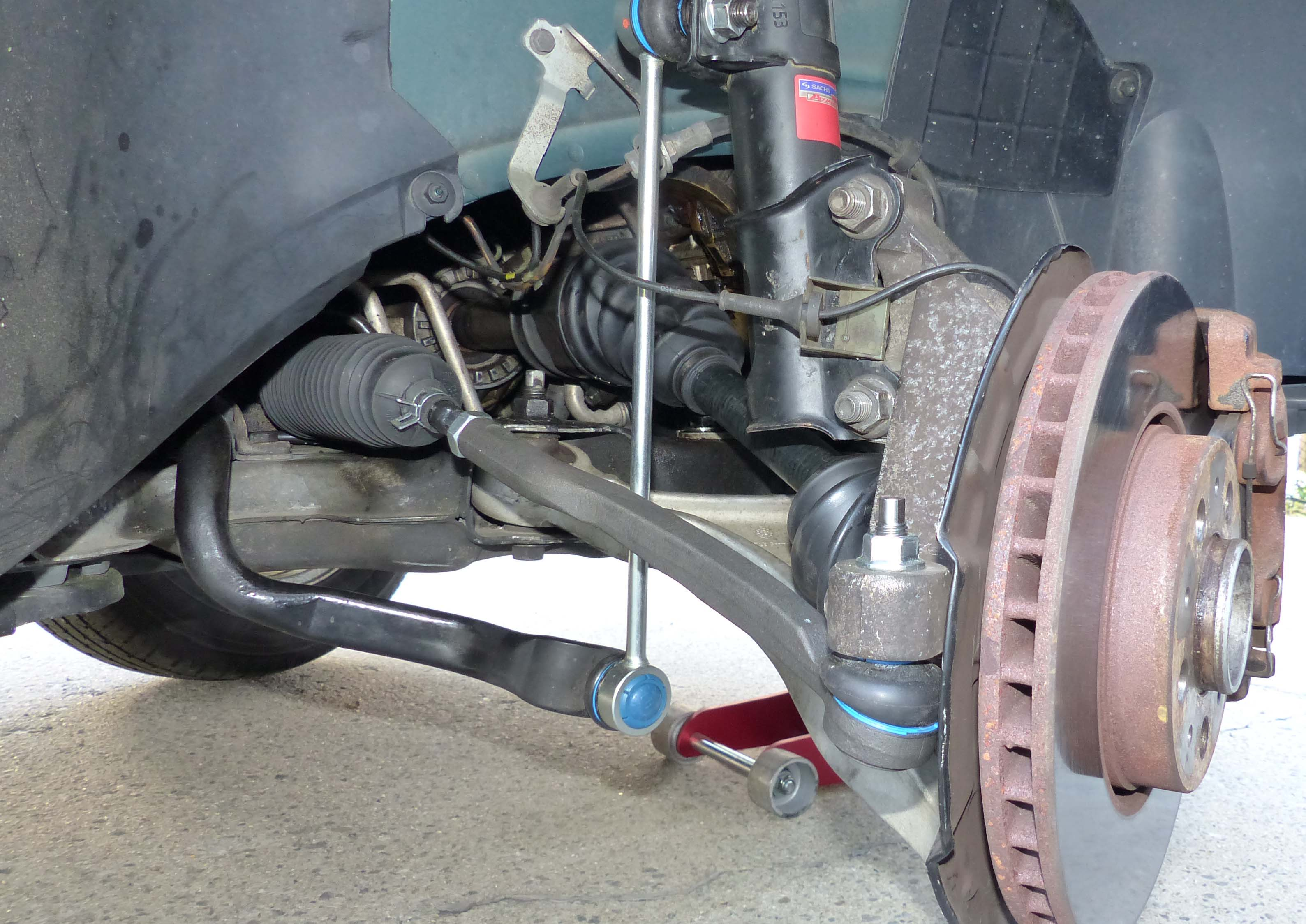 2002 xc70 unveven axle  wheel rotation after cv joint work