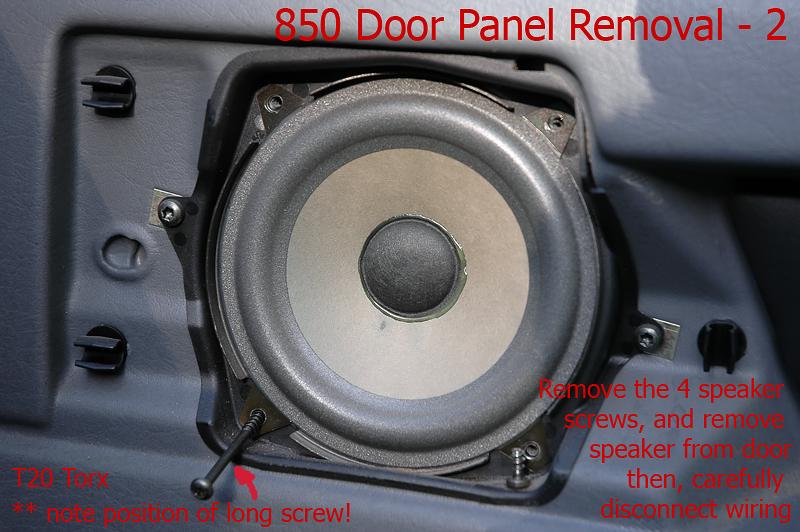 850 Interior Door Panel Removal In Pictures