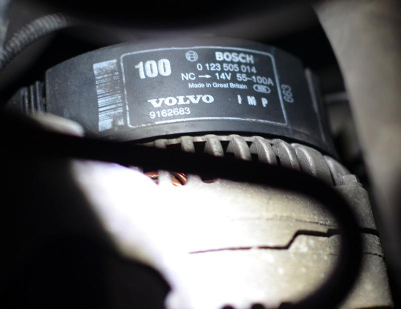 Volvo 850, S70, V70 alternator repair, replace regulator