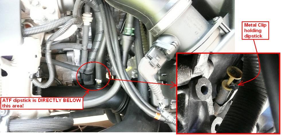 DIY: 2005 Volvo XC90 2.5T: ATF, Angle Gear, AOC/RDiff Fluid