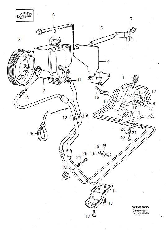 1994 850 Power Steering Leaking Badly