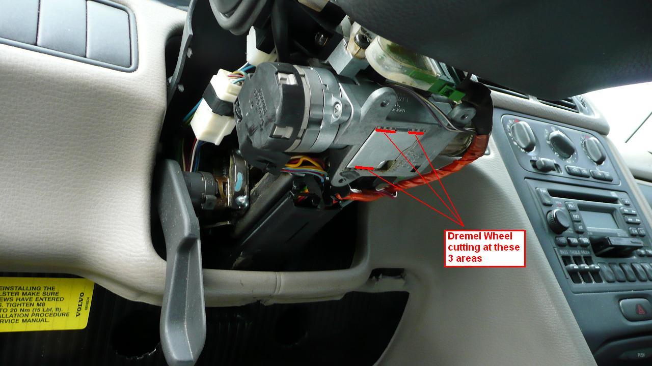 how to clean ignition key sensor colorado