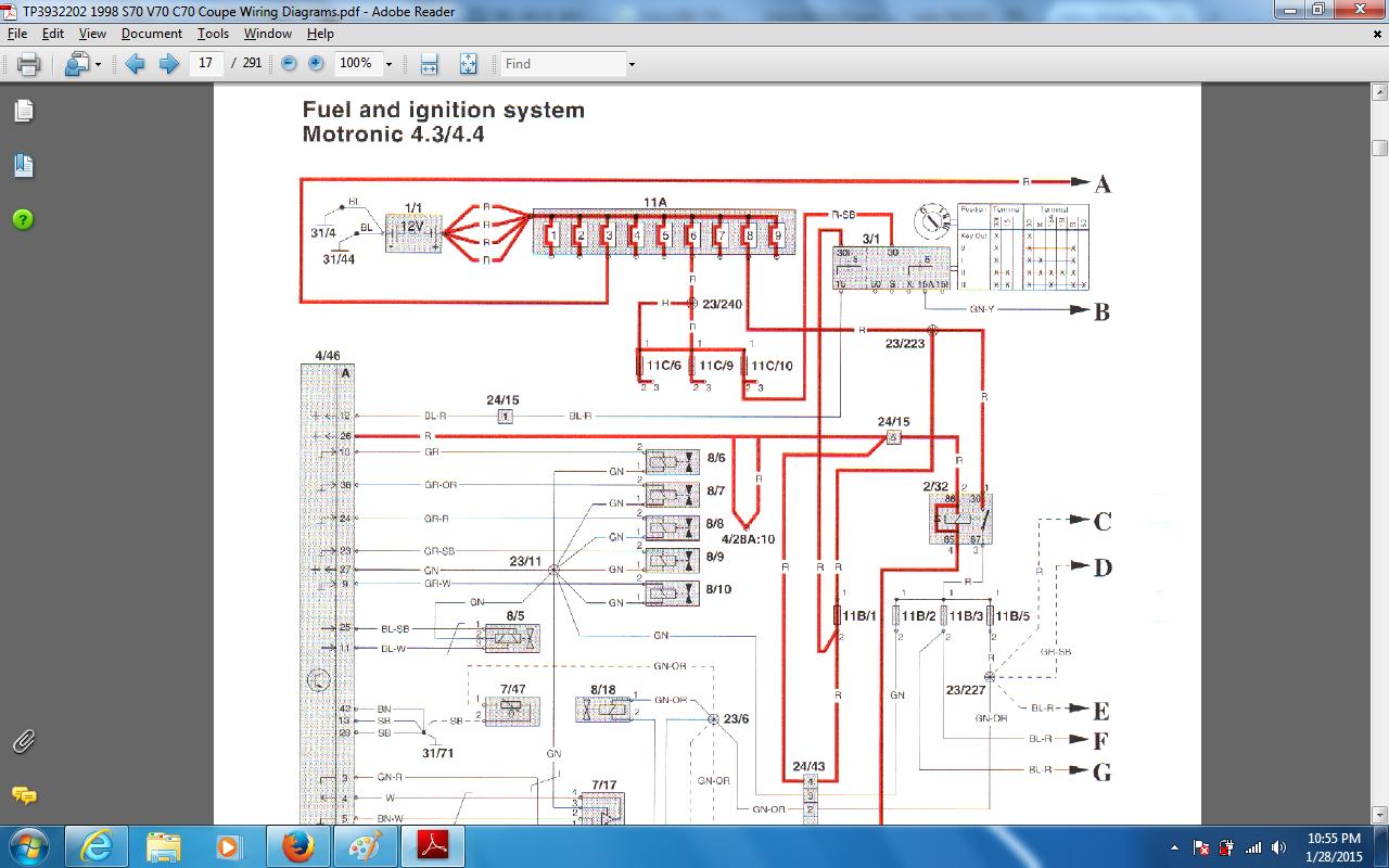 98 V70 Wiring Diagram