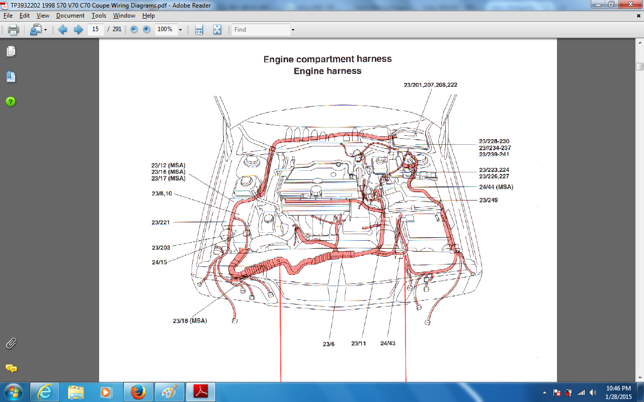 Volvo S60 Ecu Wiring Diagram Block Explanation Window Schematics Diagrams 1998 S70 Maf Connector Location Fuse Box Relays 2001 Immobilizer