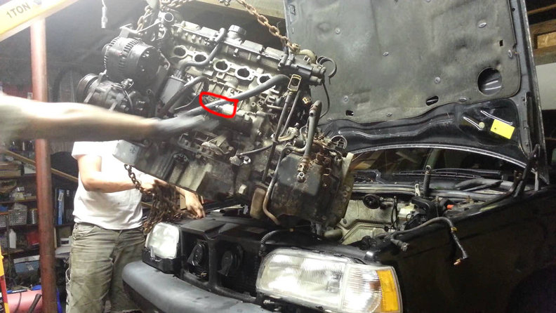 Volvo V60 Cross Country >> 1996 850 GLT Oil Leak (Possible Head Gasket?)