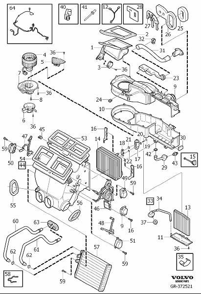 2004 Xc90 Rhd Model Evaporator Sensor Replacement Volvo
