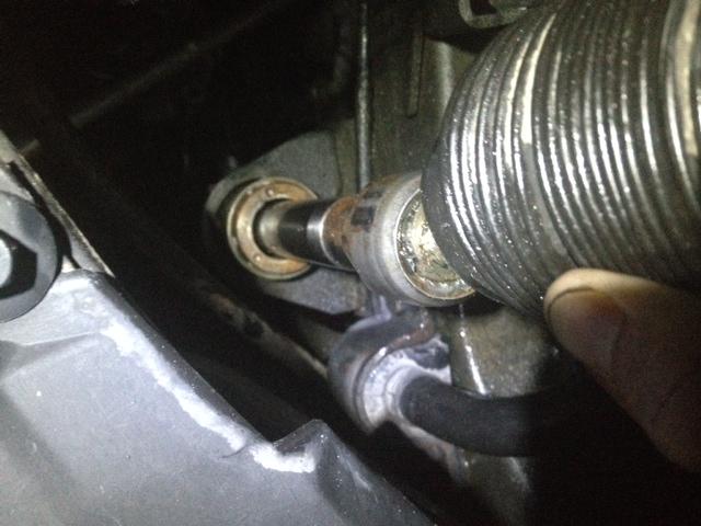 '00 S70 GLT - SMI power steering rack tear down