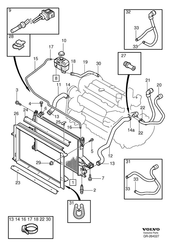 chrysler engine cooling diagram 1998 s70 t5 coolant leak -- photos volvo engine cooling diagram #8
