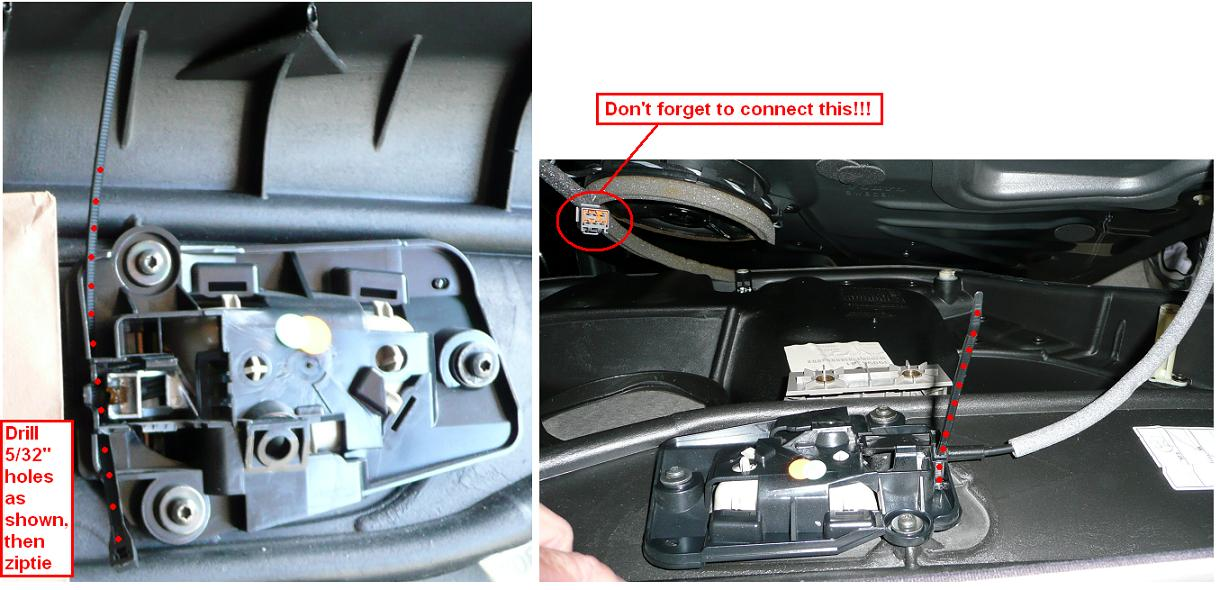 how to open volvo trunk from inside
