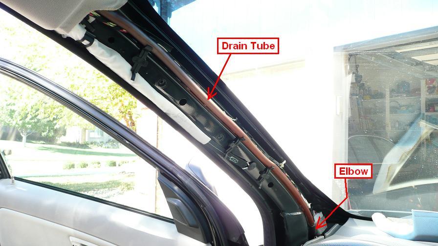2005 Xc90 Sunroof Drain Tube Maintenance