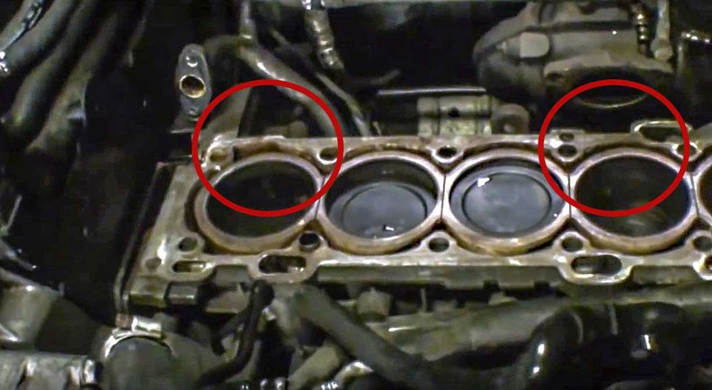 2001 V70 Oil Leak Back of Engine