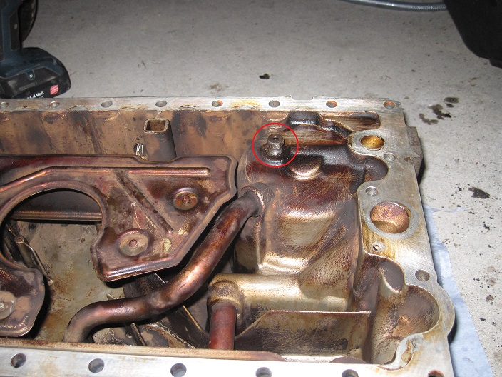 2004 S60 Oil Pan Removal & Low Oil Pressure warning light - Page 3