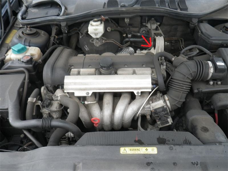 File on 2000 Volvo S70 Air Intake