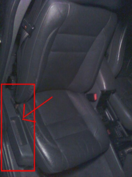 Seat before removal -Install a Passenger Seat