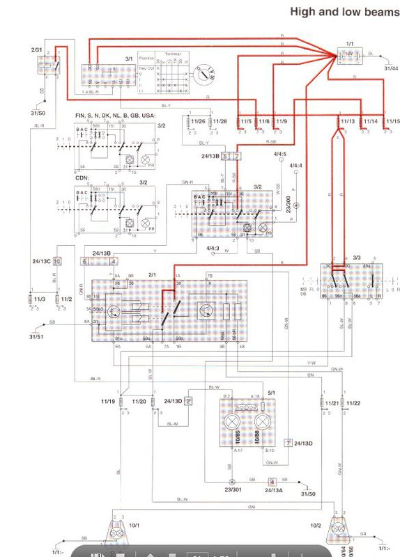 fog light wiring diagram toyota volvo 850 fog light wiring diagram 98 v/s 70 schematic q - volvo forums #12