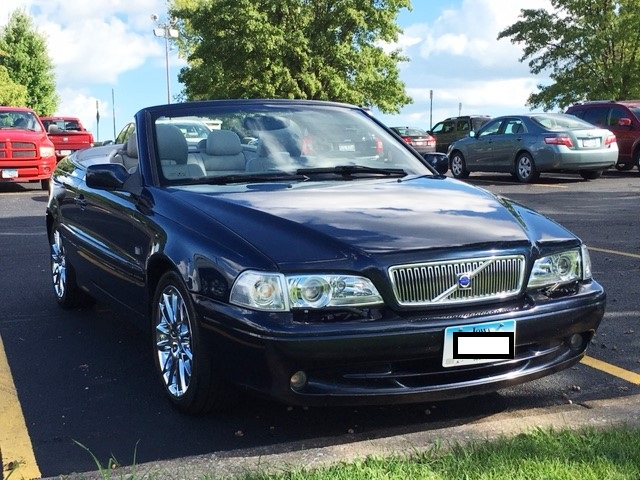 2002 Volvo C70 Hpt Convertible 5-speed Manual