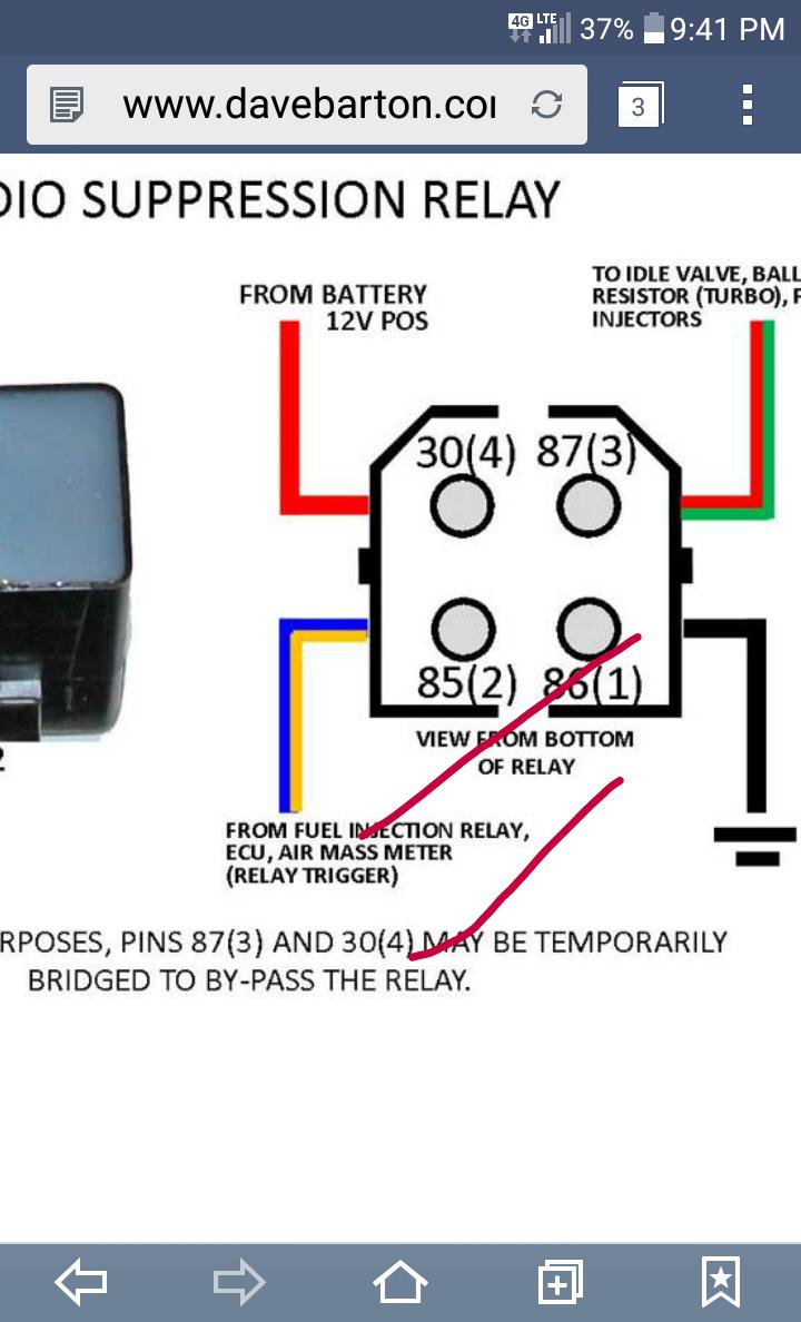 Volvo 740 Fuel Pump Relay Wiring Diagram