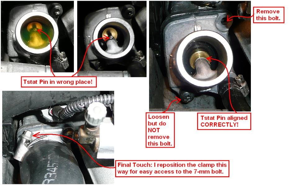 DIY: 2005 Volvo XC90 Thermostat + ECT without removing PS Pump